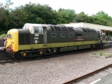 <h5>Visitor Deltic Class No.9016 Gordon Highlander</h5>