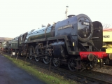 <h5>Resident Britannia Class No.70013 Oliver Cromwell</h5>