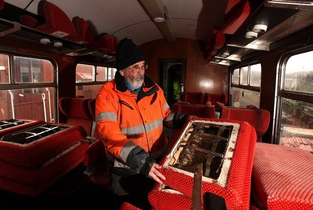 Getting Old Railway Carriages Back On Track