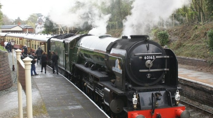 Major Extension Of The Llangollen Heritage Railway Is Completed.