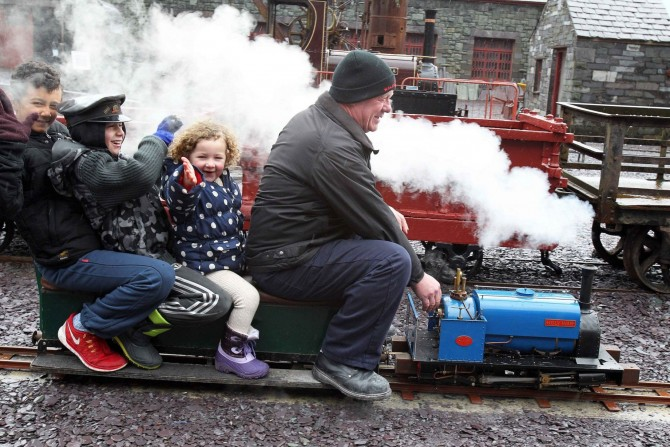 Full Steam Ahead At Llanberis Model Railway