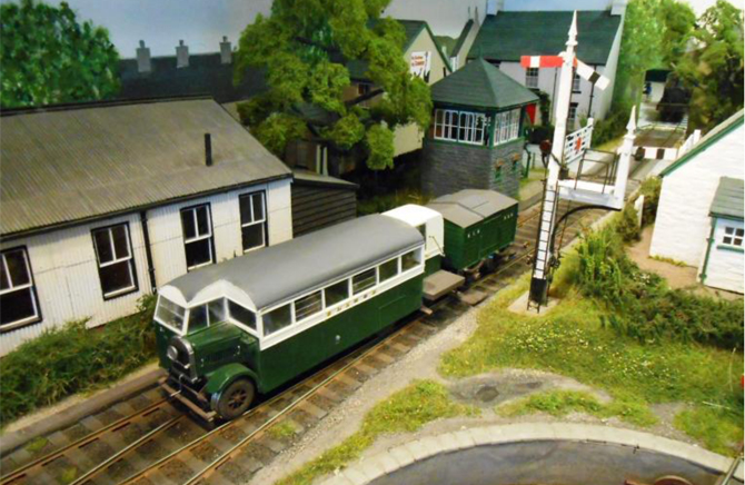 Model Railway Show At Ewell
