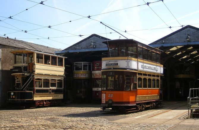 The National Tramway Museum Crich – Model Tram and Railway Exhibition