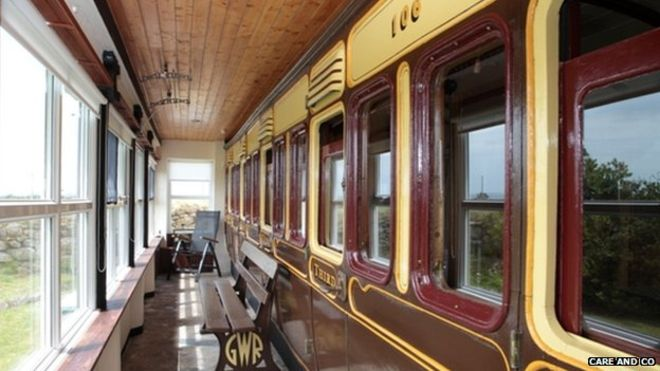 1882 GWR Carriage for Sale in Helston Cornwall