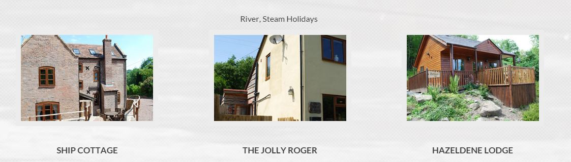 River Steam Holidays