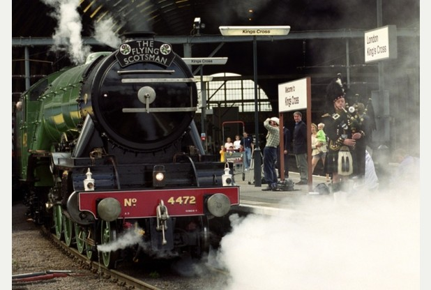 Flying Scotsman Set to Steam Through Nottinghamshire