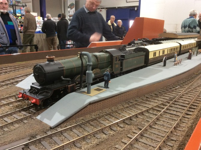The Midlands Garden Rail Show, Large Scale Model Rail
