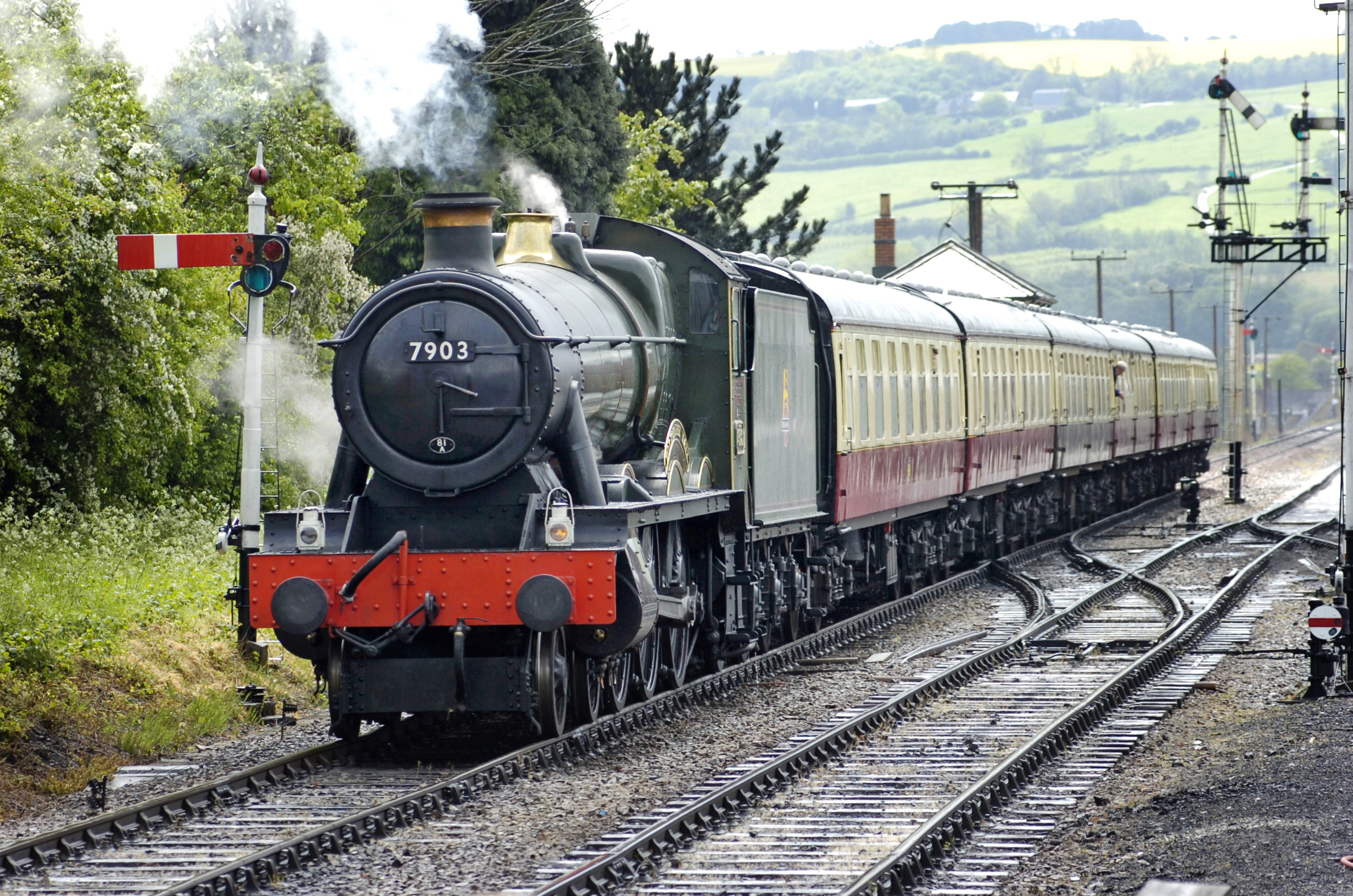 Summer Steam and Real Ale Weekend