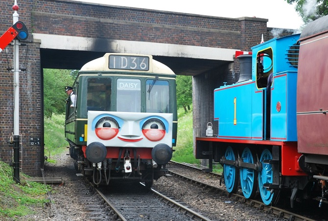 A day out with Thomas on the Gloucestershire Warwickshire Steam Railway