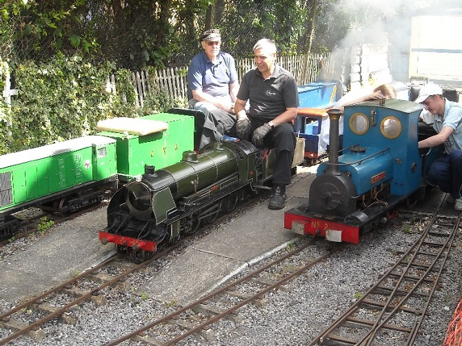 Ilford & West Essex MRC - Live Steam Open Day (Ride on