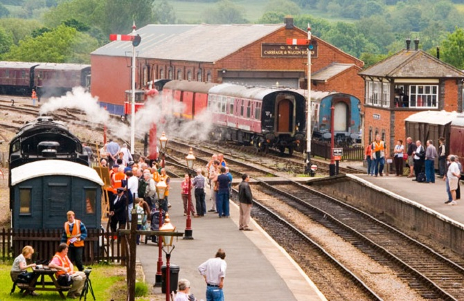 GWSR 'Spring Steam and Real Ale Weekend'