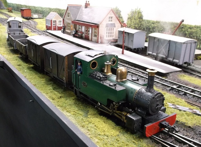 The East Anglia Garden Railway Show